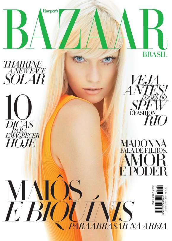 Ph: Gui Paganini | Harper's Bazaar Brazil January 2012 Cover